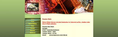 Firmenprofil von: Pension Stein in Tauberbischofsheim: einladende Gastfreundlichkeit