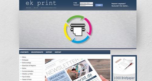 Firmenprofil von: Druckerei EK Print in Darmstadt