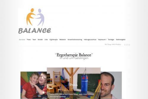 Firmenprofil von: Praxis für Ergotherapie: Balance in Geislingen