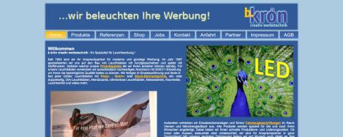 Firmenprofil von: b.krön creativ werbetechnik in Viersen