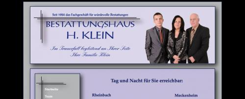 Firmenprofil von: Bestattungshaus H. Klein in Rheinbach: für eine Bestattung so individuell, wie der Mensch