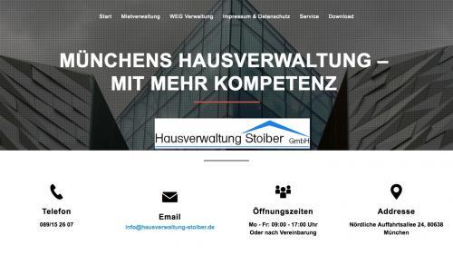 Firmenprofil von: Hausverwaltung Stoiber GmbH in München: Die Immobilie in guten Händen