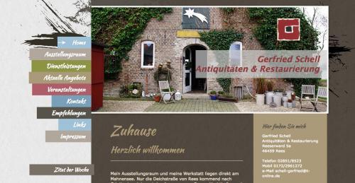Firmenprofil von: Antiquitäten & Restaurierung in Rees: Gerfried Schell
