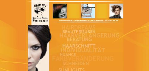 Firmenprofil von: Friseur für Damen und Herren in Nordhausen: Friseursalon Hair No.1