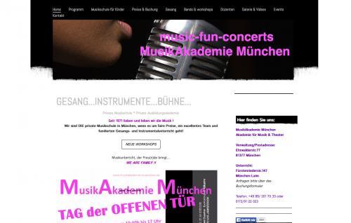 Firmenprofil von: Musikakademie München | Akademie für Musik & Theater