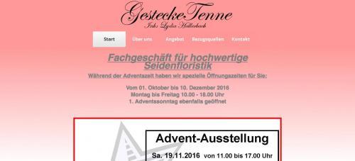 Firmenprofil von: Gestecke Tenne - Seidenblumen in Königswinter