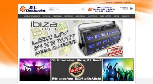 Firmenprofil von: Spezialist für Licht-, Ton- und Lasertechnik: DJ-Checkpoint