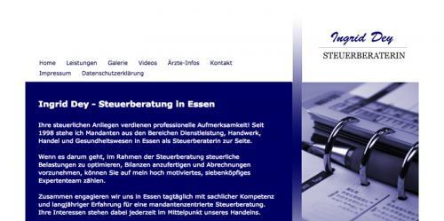 Firmenprofil von: Steuerberaterin Dey in Essen