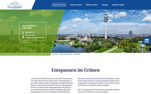 Firmenprofil von: Pension Fleischmann am Olympiagelände in München