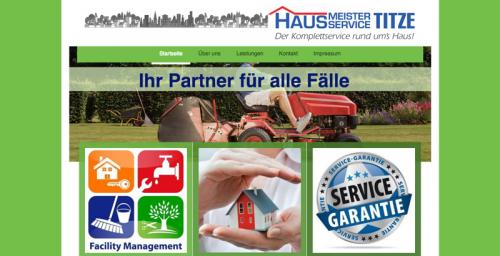 Firmenprofil von: Hausmeisterservice Titze in Augsburg