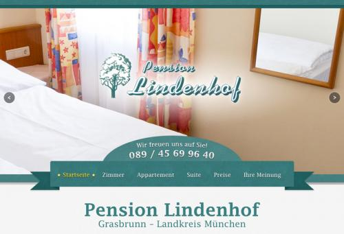 Firmenprofil von: Pension Lindenhof in Grasbrunn bei München