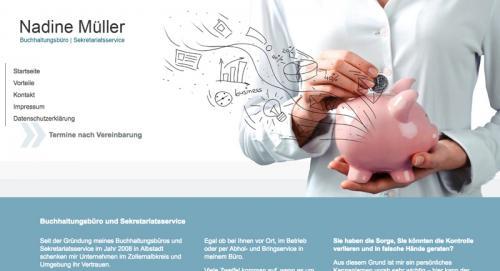 Firmenprofil von: Buchhaltungsbüro und Sekretariatsservice Müller aus Balingen