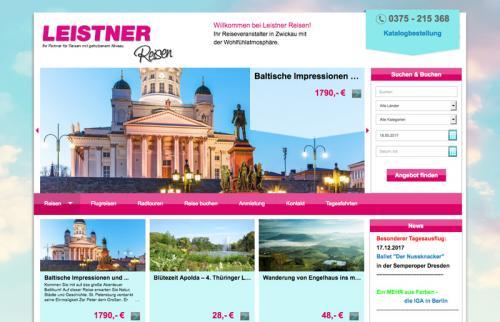 Firmenprofil von: Leistner Reisen GmbH - Reisebüro in Zwickau