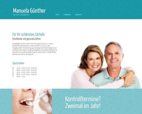 Firmenprofil von: Dipl.-Stom. Fachzahnärztin Manuela Günther in Guben