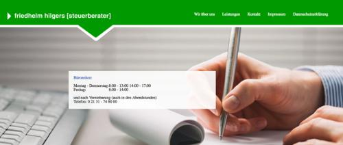 Firmenprofil von: Professionelle Steuerberatung bei Friedhelm Hilgers in Neuss