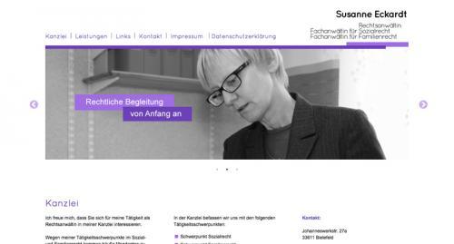 Firmenprofil von:  Fachanwältin für Ehe- und Familienrecht Eckardt in Bielefeld