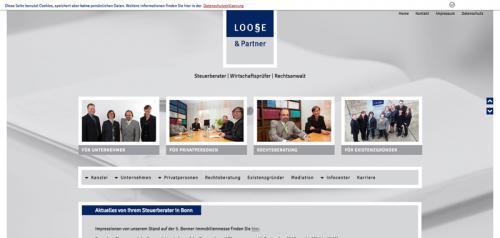 Firmenprofil von: Steuerberater in Bonn: Loose & Partner