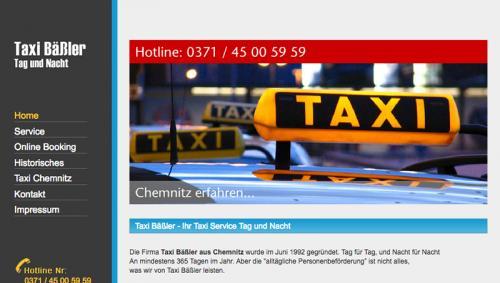 Firmenprofil von: Taxi- und Kurierfahrten in und um Chemnitz: Taxi Bäßler