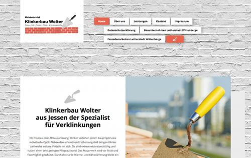 Firmenprofil von: Klinkerbau Wolter in Jessen