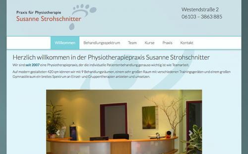 Firmenprofil von: Physiotherapie Strohschnitter in Langen