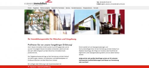Firmenprofil von: Die E. Sievers Immobilien GmbH - Der Immobilienservice in München
