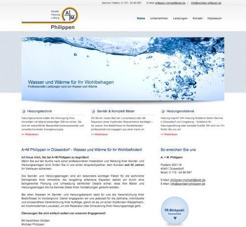 Firmenprofil von: A. + M. Philippen in Düsseldorf: Experten für Heizung und Sanitär