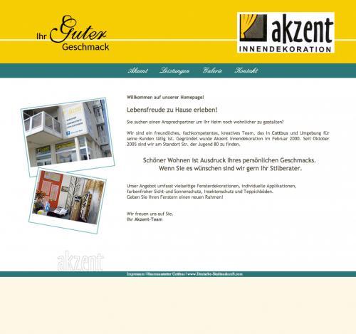 Firmenprofil von: Akzent Innendekoration in Cottbus