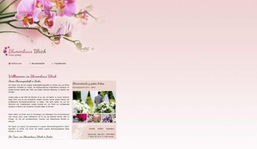 Firmenprofil von: Blumenhaus Ulrich in Berlin