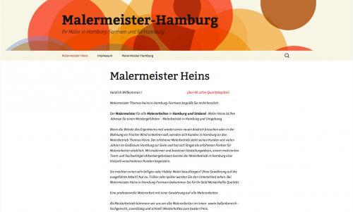 Firmenprofil von: Malerbetrieb Thomas Heins in Hamburg