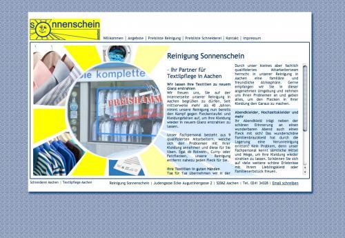 Firmenprofil von: Reinigung Sonnenschein UG (haftungsbeschränkt) in Aachen