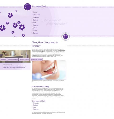 Firmenprofil von: Zahnarztpraxis Dr. Rundo in Frankfurt am Main