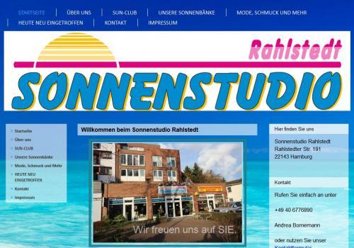 Firmenprofil von: Sonnenstudio Rahlstedt in Hamburg