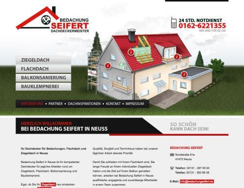 Firmenprofil von: Dachdeckerei in Neuss: Bedachung Seifert