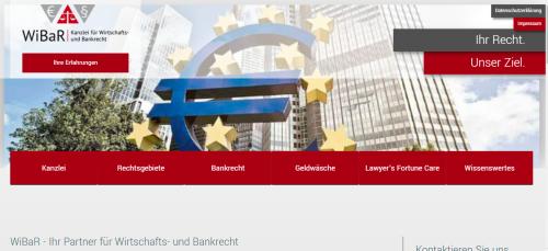 Firmenprofil von: Kanzlei für Wirtschaft- und Bankrecht: Beratung zur Freigabe von Sicherheiten an Banken