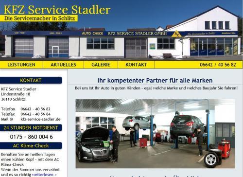 Firmenprofil von: Kfz-Service Stadler in Schlitz