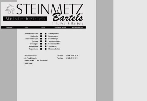 Firmenprofil von: Steinmetz Bartels in Stade