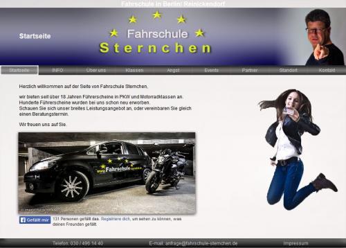 Firmenprofil von: Fahrschule Sternchen in Berlin