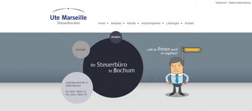 Firmenprofil von: Steuerberater für Heilberufe in Bochum: Kanzlei Ute Marseille