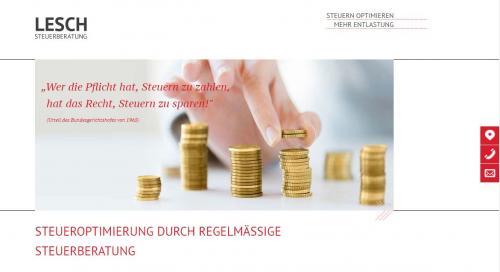Firmenprofil von: Steuerberatung Lesch in Duisburg: Kompetenz durch Erfahrung