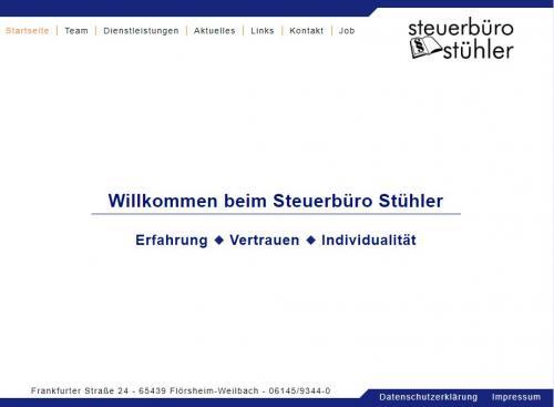 Firmenprofil von: Der Steuerberater Ihres Vertrauens: Steuerbüro Stühler in Flörsheim-Weilbach