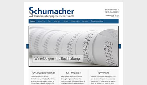 Firmenprofil von: Steuerkanzlei Schumacher in der Region Neuss Uedesheim - Ihr Steuerberater, Ihr Vorteil