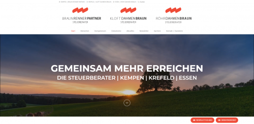 Firmenprofil von: Endlich Durchblick bei Steuern und Buchführung: Steuerkanzlei Röhr Dahmen Braun in Essen
