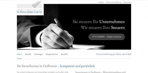 Firmenprofil von: Der Steuerberater Ihres Vertrauens – Dr. Czerner aus Heilbronn
