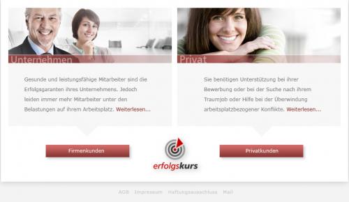 Firmenprofil von: Unternehmensberatung und Jobcoaching Erfolgskurs in Saarbrücken