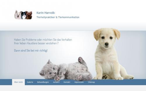 Firmenprofil von: Mobile Tierheilpraktikerin Karin Harvolk aus Ingolstadt