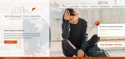 Firmenprofil von: Anwalt für Reise- und Verkehrsrecht in Frankfurt: Kanzlei Stefan Tödt-Lorenzen