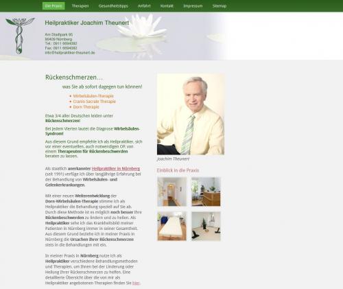 Firmenprofil von: Heilpraktiker Heinz-Joachim Theunert aus Nürnberg