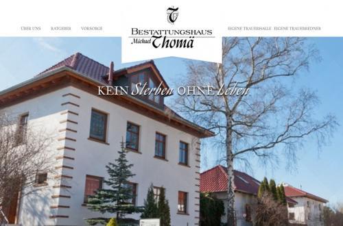 Firmenprofil von: Bestattungshaus Thomä in Mühlhausen Thüringen