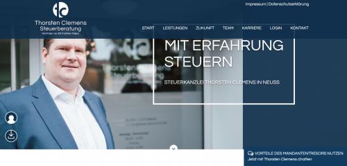 Firmenprofil von: Professionelle Steuerberatung bei Thorsten Clemens in Neuss
