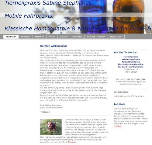 Firmenprofil von: Tierheilpraxis Sabine Stephanus in Sailauf